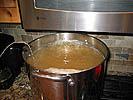 Beginning to boil