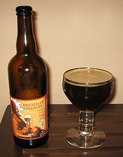 North Coast Brother Thelonius Belgian Style Abbey Ale