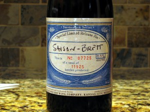 Boulevard Brewing - Saison-Brett label